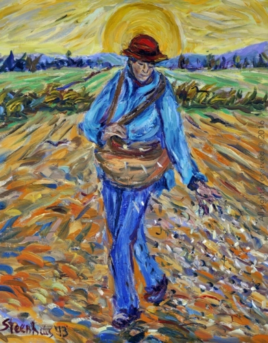 The Sower Going forth at Sunrise