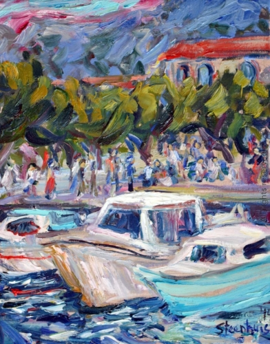 Boats at Port de Cassis