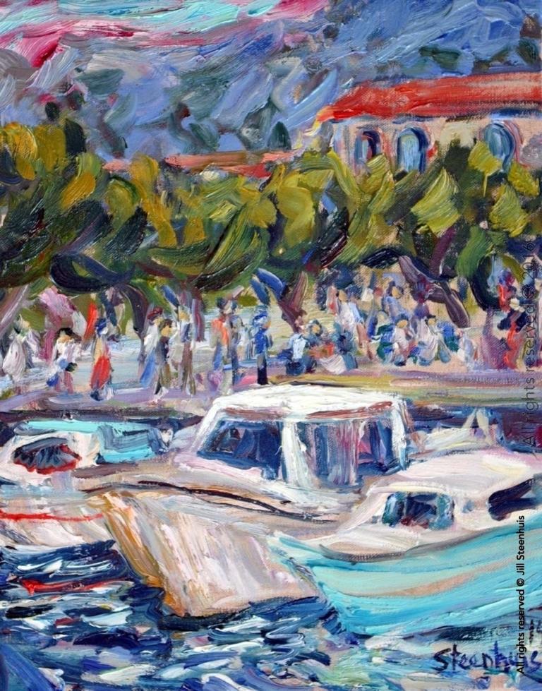 Boats at Port de Cassis