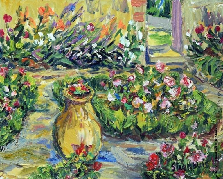 Les Rosiers au Jardin la Souvenance