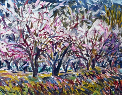 The Dance of the Almond Trees at Valcros