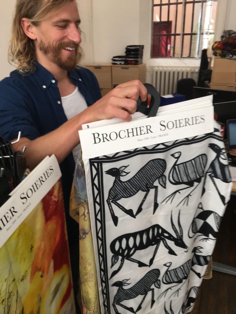 Brochier Soieries Alexander Silk Samples Steenhuis