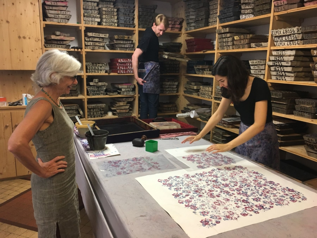 Brochier Soieries Printing Silk Jill Steenhuis