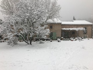 L'Abeille covered in snow, December 2017