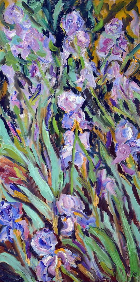 Tall Irises