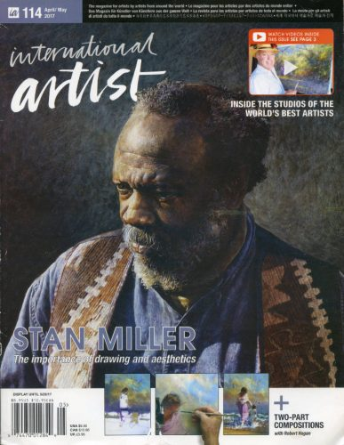 2017 Apr May International Artist Magazine Cover 528